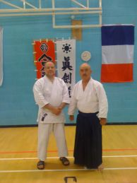 Obata Kaiso with Sensei Jim Dart